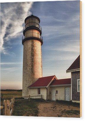 Highland Lighthouse Wood Print by Mark Papke