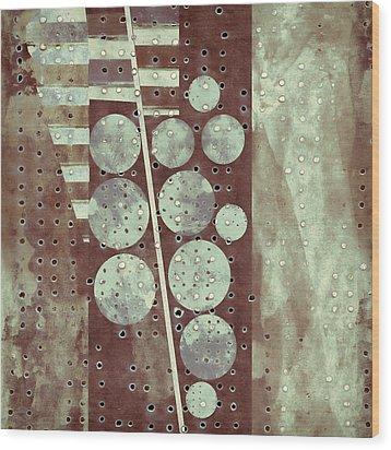 Highway 6 Wood Print by Carol Leigh