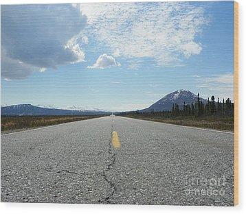 Highway Wood Print by Jennifer Kimberly