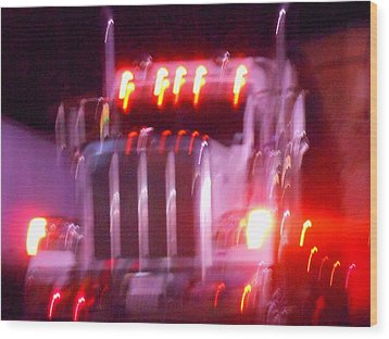 Highway To Hell Wood Print