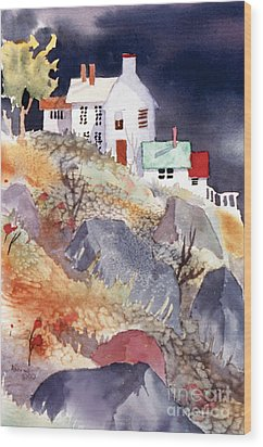 Hill House Wood Print