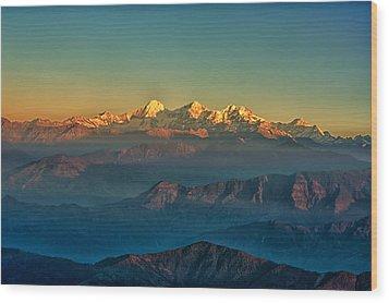 Himalaya Wood Print