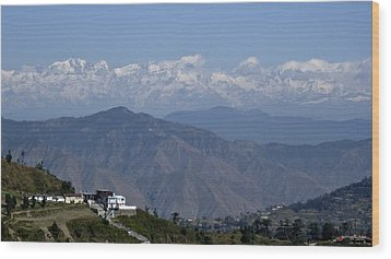 Himalayas I Wood Print by Russell Smidt
