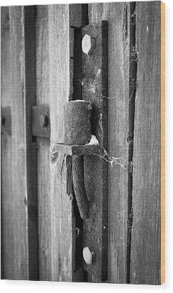 Hindge Wood Print by Robert Hellstrom