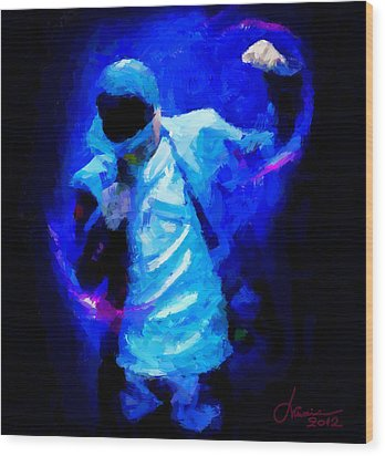 Hip Hop Is More Than Music Tnm Wood Print by Vincent DiNovici