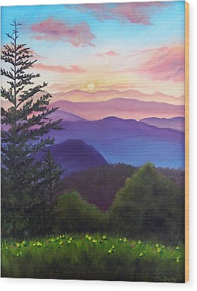 His Mercies Are New Every Morning Wood Print by Joan Swanson
