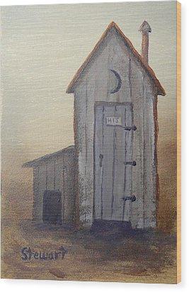 HIS Wood Print
