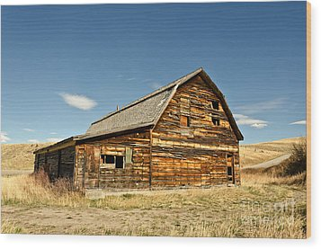 Wood Print featuring the photograph Historic Community Hall by Sue Smith