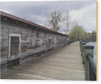 Historic Steamer Terminal On The Waccamaw River Wood Print