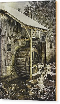 Historic Taylor Mill Wood Print by Betty Denise