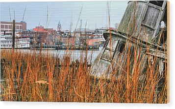 Historic Wilmington Wood Print by JC Findley