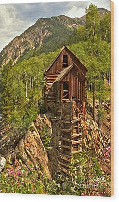 History In The Mountains Wood Print by Adam Jewell