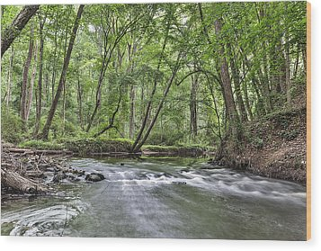 Hitchcock Creek Wood Print