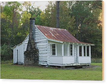 Hobcaw Cabin Wood Print