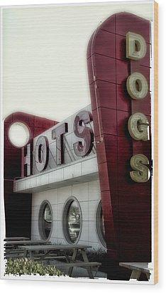 Hofmann Hots Wood Print
