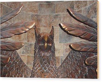 Hogwarts Hippogriff Guardian Wood Print
