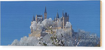 Wood Print featuring the photograph Hohenzollern Castle Germany by Rudi Prott