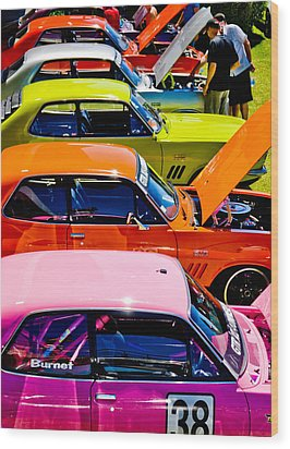 Holden Colors Wood Print by Phil 'motography' Clark