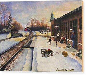 Holiday Depot 1932 Wood Print