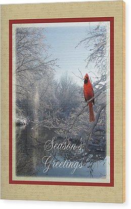 Holiday Season 2013 Wood Print