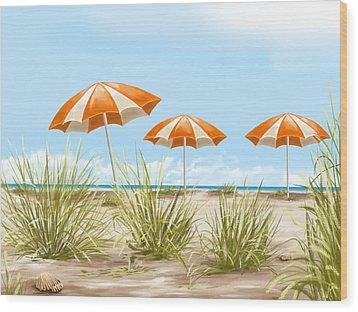 Holiday Wood Print by Veronica Minozzi