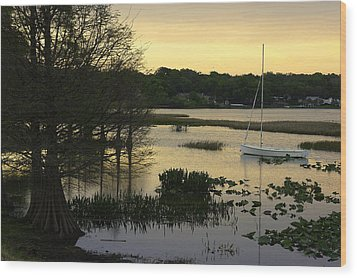 Hollingsworth Sunset Wood Print