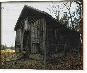 Holloway Township Historic Site Nc Usa Wood Print by Kim Galluzzo Wozniak