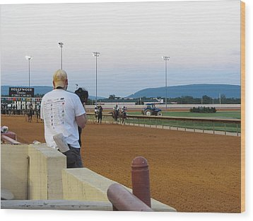 Hollywood Casino At Charles Town Races - 12128 Wood Print by DC Photographer