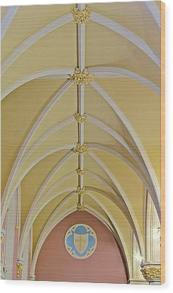 Holy Arches Wood Print by Susan Candelario