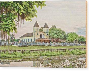 Holy Rosary Church Wood Print by Scott Pellegrin