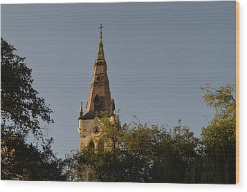 Wood Print featuring the photograph Holy Tower   by Shawn Marlow