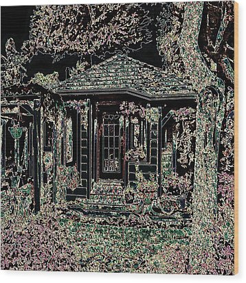 Home Entrance Wood Print