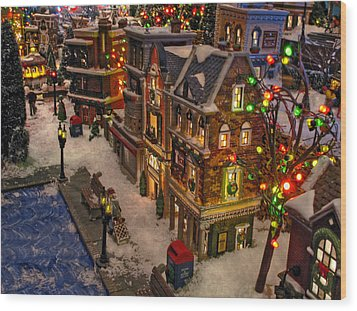Wood Print featuring the photograph Home For The Holidays by GJ Blackman