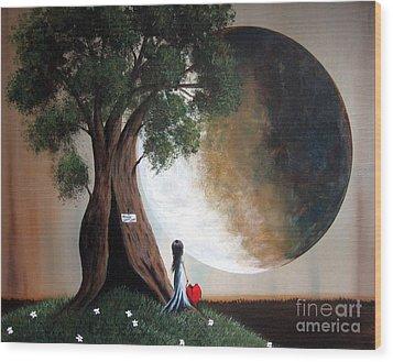 Home Sweet Home By Shawna Erback Wood Print by Shawna Erback