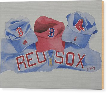 Home Team Wood Print by Don Hurley