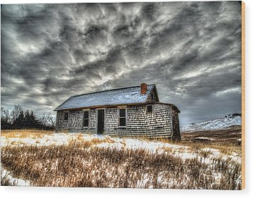 Wood Print featuring the photograph Homestead 2 by Kevin Bone
