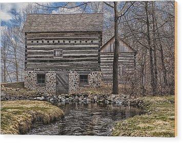 Homestead 5 Wood Print by Jack Zulli