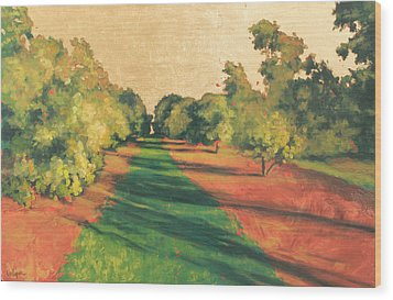 Homestead Grove 7 Wood Print by Carlynne Hershberger