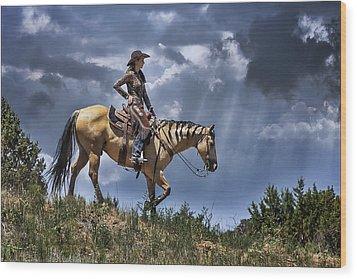 Homeward Bound Wood Print by Priscilla Burgers