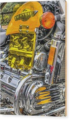 Honda Valkyrie 1 Wood Print by Steve Purnell