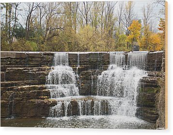 Honeoye Falls 2 Wood Print
