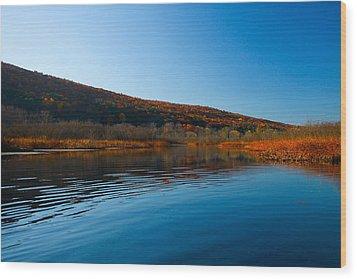 Honeoye Lake Inlet Wood Print by Steve Clough