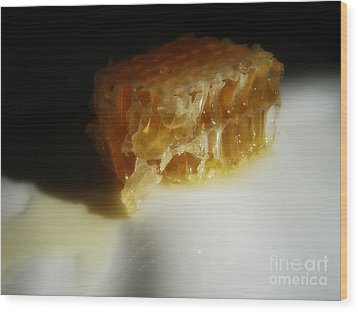 Wood Print featuring the photograph Honeycomb by Kristine Nora