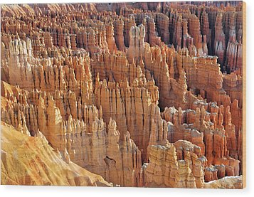 Wood Print featuring the photograph Hoodoos Of Bryce Canyon by Dan Myers
