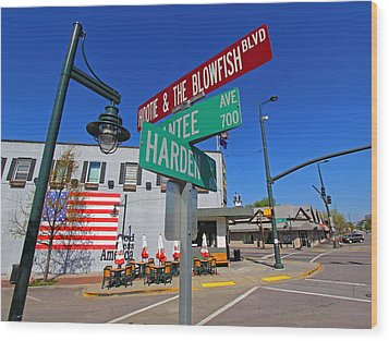 Hootie And The Blowfish Blvd Wood Print
