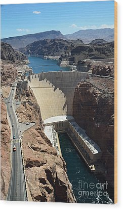 Hoover Dam Wood Print by RicardMN Photography