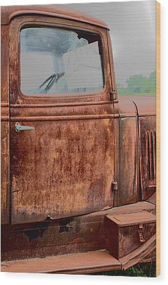 Wood Print featuring the photograph Hop In by Lynn Sprowl