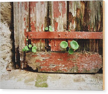 Hope Wood Print by Lainie Wrightson