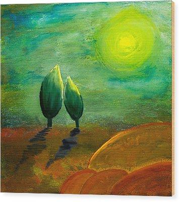 Hope Wood Print by Nirdesha Munasinghe