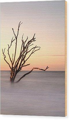 Horizon Wood Print by Serge Skiba
